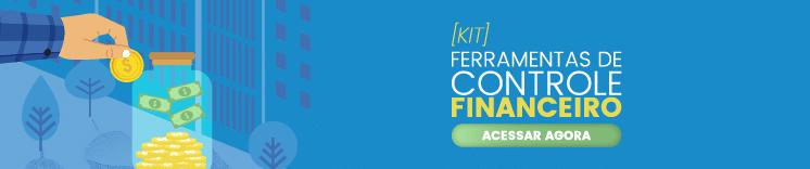 Banner site kit ferramenta de controle financeiro