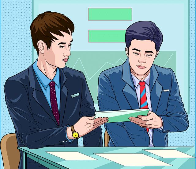 reuniões de negócios